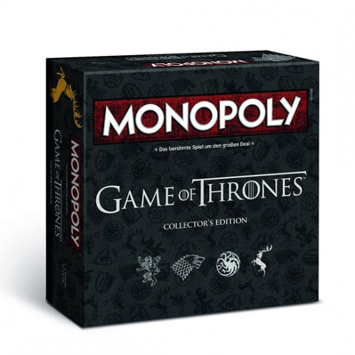 Monopoly Game of Thrones Collector's Edition